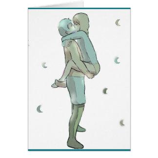 Couple Embrace Card