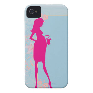 couple expecting baby iPhone 4 Case-Mate cases