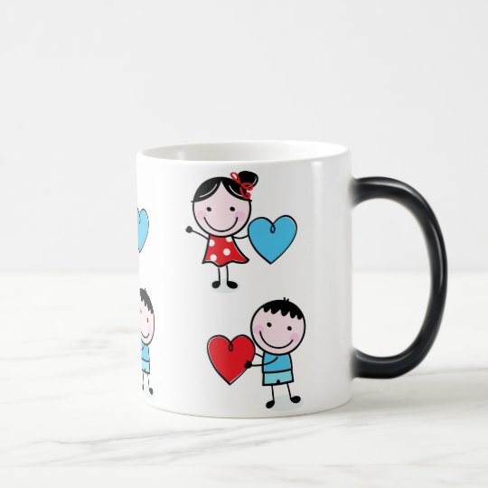 Couple Giving Their Heart Morphing Mug