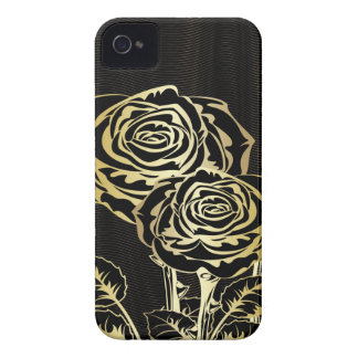 Couple Golden Roses iBlackberry Bold Case