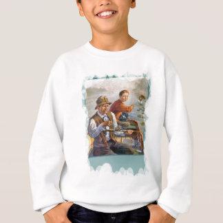 Couple in a boat sweatshirt