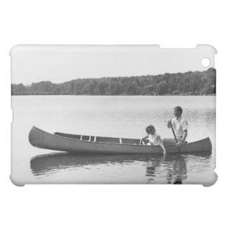 Couple in a Canoe Case For The iPad Mini