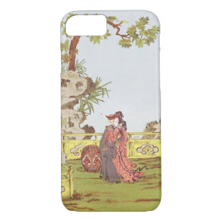 Couple in a Chinese garden, from 'Ornaments of Chi iPhone 8/7 Case