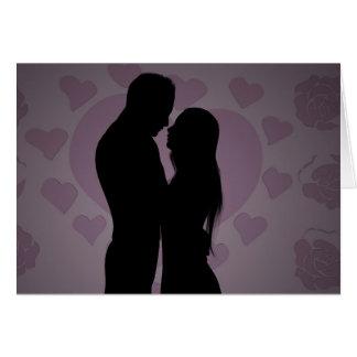 Couple In Love - Blank Card
