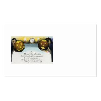 Couple Jack O Lantern Pumpkin Pack Of Standard Business Cards