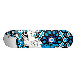 Couple Kiss by Keren Richter 19.7 Cm Skateboard Deck
