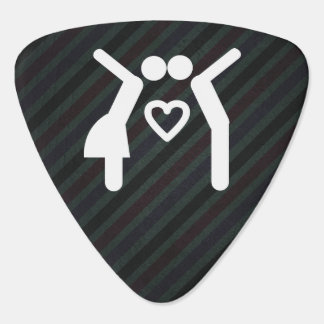 Couple Kissers Minimal Plectrum