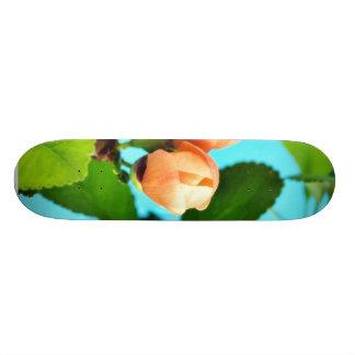 Couple Of Flower Buds Custom Skate Board