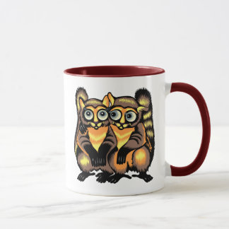 Couple of lemurs mug