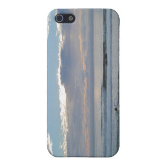 Couple on Beach Gazing into Sunset and Ocean iPhone 5/5S Covers