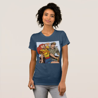 Couple on Motorcycle T-Shirt