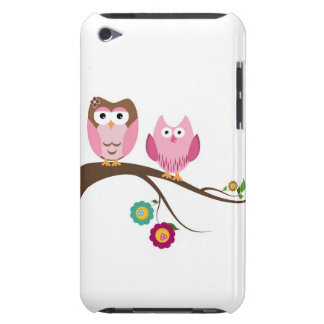 Couple owls iPod Case-Mate case
