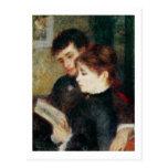 Couple Reading (Edmond Renoir and Marguerite Legra Post Cards