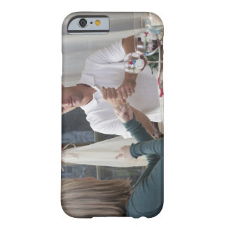 Couple signing the phrase 'New Year' in American Barely There iPhone 6 Case