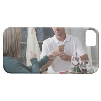 Couple signing the phrase 'New Year' in American iPhone 5 Cases