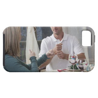 Couple signing the phrase 'New Year' in American iPhone 5 Covers