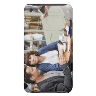 Couple sitting in a restaurant, Paris, 2 iPod Touch Cover