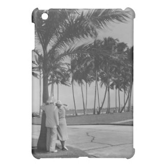 Couple Standing Under Tree iPad Mini Cases
