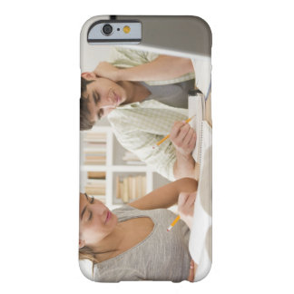 Couple studying together barely there iPhone 6 case