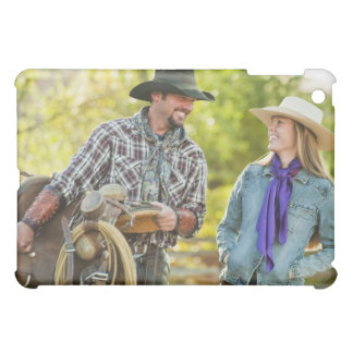 Couple talking iPad mini case