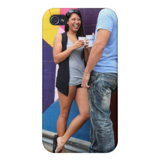 Couple Talking iPhone 4 Covers