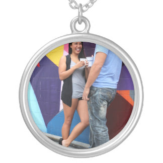 Couple Talking Personalized Necklace
