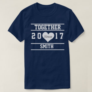 "Couple ""Together Since.."" T-Shirt"