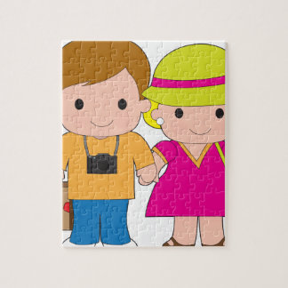 Couple Travel Jigsaw Puzzles