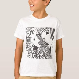 couple with bird tee shirt