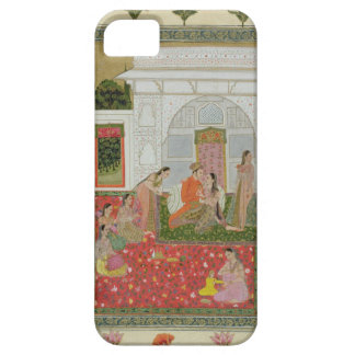 Couple with female attendants and musicians case for the iPhone 5