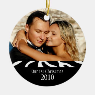 Couple's 1st Christmas Keepsake Ornament