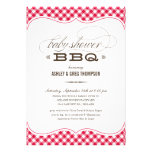 Couple's BBQ Baby Shower Invitations