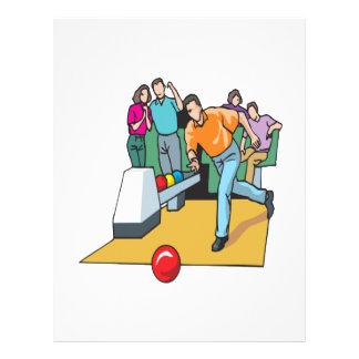 Couples Bowling 21.5 Cm X 28 Cm Flyer