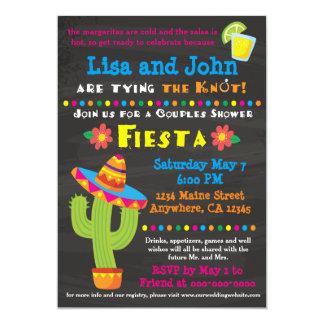 Couples Bridal Shower Invitation - Fiesta