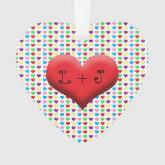 Couples Colorful Heart