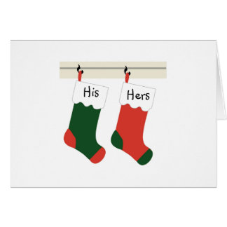 Couples First Christmas Newlyweds Christmas Card