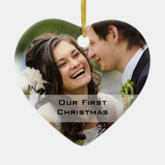 Couple's First Christmas Ornament | Photo