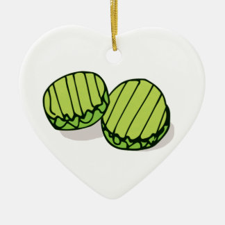 Couples' In a Pickle Together Personalized Christmas Ornament