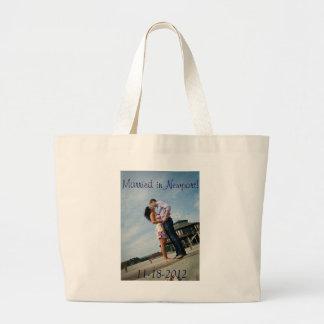 Couples in Love   Jumbo Tote Bag