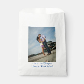 Couples in Love | Photo | Wedding Favor Bag Favour Bags