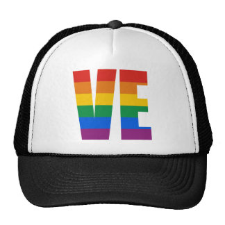 COUPLES LOVE LETTERS TRUCKER HAT
