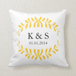 Browse our Collection of Wedding Cushions and personalise by colour, design or style.