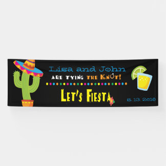 Couples Shower Fiesta Welcome Banner