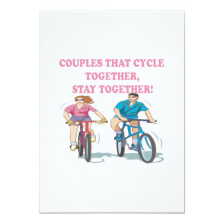 Couples That Cycle Together Announcements