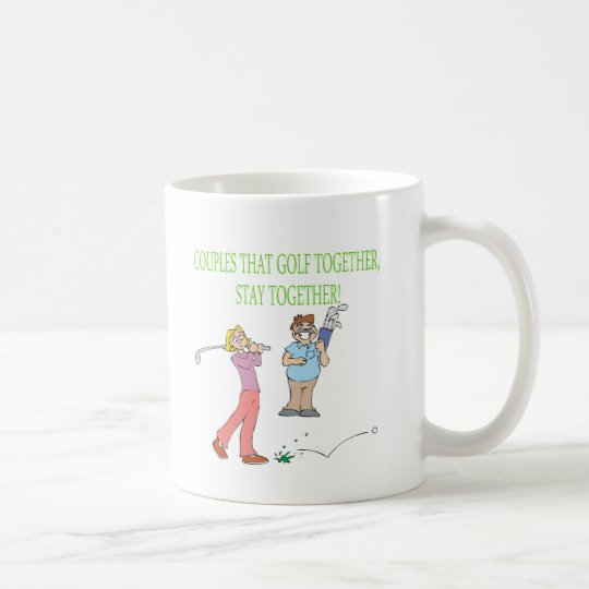 Couples That Golf Together Stay Together Coffee Mug
