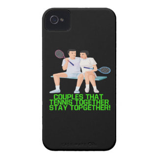Couples That Tennis Together iPhone 4 Covers