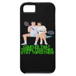 Couples That Tennis Together iPhone 5 Cover