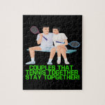Couples That Tennis Together Puzzles