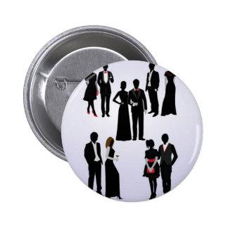 Couples vectors design pin