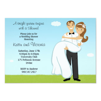 Couples Wedding Shower Invitation